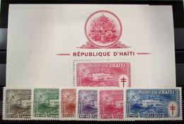 Haití Aéreo 47/52+HB 4/5 ** - Haití