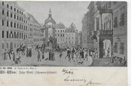 AK 0088  Alt-Wien - Hoher Markt ( Schrannen-Gebäude ) / Verlag Traub & Co Um 1898 - Wien Mitte