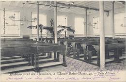Wavre-Notre-Dame - Etablissement Des Ursulines - Salle D'Etudes - 1905 - Sint-Katelijne-Waver