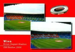AK Ernst-Happel-Stadion Postkarte Stadium Postcard  Wien Österreich AUSTRIA Terrain Stade Sportplatz Stadio - Fussball