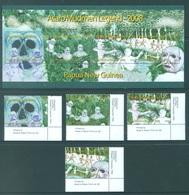 PAPUA NEW GUINEA -  MNH/*** LUXE - 2008 - ASARO LEGEND - Yv 1199-1202 BLOC 43 -  Lot 18257 - Papouasie-Nouvelle-Guinée
