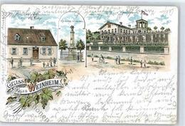 51389271 - Weinheim , Bergstr - Weinheim