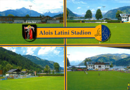 AK Alois-Latini-Stadion Postkarte FC Zell Am See ASV Salzburg Pinzgau Österreich Austria Football Stadium Stadio Fußball - Fussball