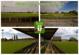 AK Heideboden-Stadion Postkarte SC-ESV Parndorf Burgenland Pandrof Pándorfalu Fußball Österreich Football Stadium - Fussball