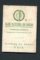 1960 CLUB OLIVEIRA DO DOURO / GAIA (Porto / Portugal) - Cartão De Sócio De CARLOS ALBERTO RAMALHETE - Programmes