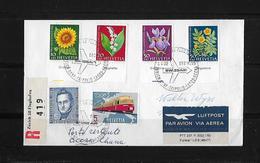 1962 ERSTFLUG ZÜRICH-GENF-TRIPOLIS-LAGOS-ACCRA In Ghana  ►SBK-J188-J192 Mit Taps◄ - First Flight Covers