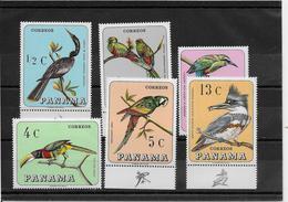 Panama N°453/458 - Oiseaux - Neufs ** Sans Charnière - TB - Panama