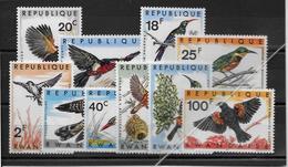 Rwanda N°233/242 - Oiseaux - Neufs ** Sans Charnière - TB - Rwanda
