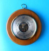 TIEF HOCH BAROMETER ( BARIGO ) - Germany Vintage Barometer ( Brass - Glass - Wood ) * Excellent Condition * Deutschland - Technics & Instruments