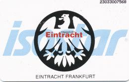GERMANY Telefonkarte K  919  93 Eintracht Frankfurt, Isostar - Auflage 4000 - Siehe Scan - 15494 - K-Series: Kundenserie