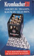 GERMANY Telefonkarte O 095  95 Krombacher Bier - Auflage 6000 - Siehe Scan - 15511 - Deutschland