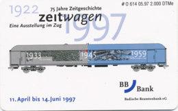 GERMANY Telefonkarte O 614 97  BB Bank Eisenbahn- Auflage 2000 - Siehe Scan - 15516 - Allemagne