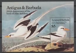 Antigua And Barbuda 1985 Mi# Bl.91** BIRDS, JOHN J. AUDUBON 200th BIRTH ANNIV. - Antigua Y Barbuda (1981-...)