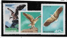 Corée Du Nord N°794/796 -  Oiseaux - Neufs ** Sans Charnière - TB - Corée Du Nord