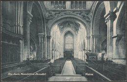 The Nave, Wimborne Minster, Dorset, C.1910 - Wyndham Series Postcard - Other