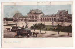 Allemagne   Grüss Aus DÜSSELDORF   Hauptbahnhof - Duesseldorf