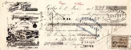 MANDATS FROMAGE LANQUETOT FABRIQUE DE CAMENBERTS ORBEC En AUGE Année 1908 - Other