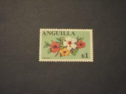 ANGUILLA - 1967/8 FIORI 1 D. - NUOVO(++) - Anguilla (1968-...)
