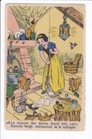 N° 6 - La Maison Des Nains étant Très Sale, Blanche-Neige Entreprend De La Nettoyer - Disney