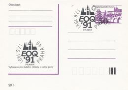 I0291 - Tschechoslowakei (1991) Praha 49: Die Europäische Organisation Für Qualität (EOQ) - Fabriken Und Industrien