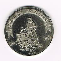 &  BRASSCHAAT  1 BRACENTER  1981 - Jetons De Communes