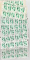 France Lot Sous Faciale De Carnets Lettre Verte. Faciale 272 Euro - Carnets