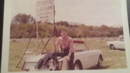 Ancienne Photo D'une Voiture Ancienne ( Animèe ) - Cars