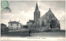 78 CONFLANS-SAINTE-HONORINE - L'église - Conflans Saint Honorine