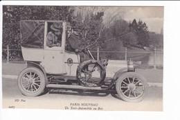 PARIS NOUVEAU - Un Taxi-Automobile Au Bois - Taxi & Carrozzelle