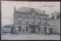 France - CPA Rosendaël (Nord) - La Mairie - Carte Animée, Correspondance Militaire (régiment Génie) - 23/11/1914 - France