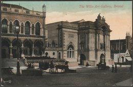 The Wills Art Gallery, Bristol, 1911 - Valentine's Postcard - Bristol