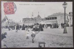 France - CPA Malo-Les-Bains - Sur La Digue Le Dimanche - Carte Très Animée Circulée En Août 1905 - Malo Les Bains