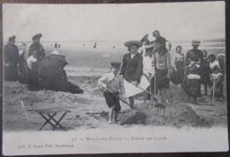 France - CPA Malo-Les-Bains - Scène De Plage - Carte Très Animée Circulée Vers 1915 - Malo Les Bains