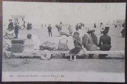France - CPA Malo-Les-Bains - Scène De Plage - Carte Animée Circulée Corr. Militaire (cuisiniers) - Cachet Trésor - 1918 - Malo Les Bains