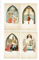 7 Images Religieuses GOUPPY Les 7 SACREMENTS Baptème Eucharistie Mariage Ordination Malades Pénitence Confirmation ... - Devotieprenten