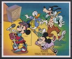 2449  -  The GAMBIA - Disney - Minnie Door De Jaren Heen  . - Disney