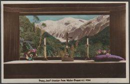 Franz Josef Glacier From Waiho Chapel, New Zealand, C.1930 - RP Postcard - New Zealand