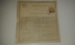VP13.468 - Préfecture De Seine & Oise à VERSAILLES 1922  - Passeport à L'Etranger ( Suisse ) Melle M.T. QUENTIN - Police & Gendarmerie