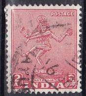 India, 1949 - 2a Nataraya - Nr.211 Usato° - 1947-49 Dominion