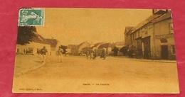 70 - Saulx - ( Haute Saône ) - Le Centre :: Carte Toilée  :::: Animation -------------- 478 - France
