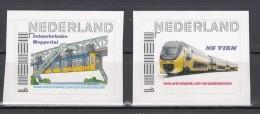 Trein, Trains, Locomotive, Eisenbahn: Nederland Adhesie  Schwebebahn Wuppertal + NS Virm - Treinen