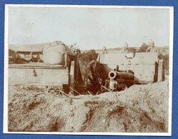 Photo  -  Canon Allemand - War 1914-18