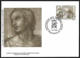 2005 - FRANCE - Card [Raphael] + PERIGUEUX - Documents De La Poste