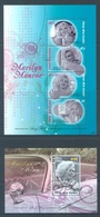 PAPUA NEW GUINEA -  MNH/*** LUXE - 2008 - MARILYN MONROE - Yv 1227-1230 BLOC 49 -  Lot 18258 - Papouasie-Nouvelle-Guinée