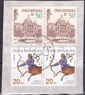 Repubblica Ceca - 1993/94, 50k Opava, Coppia - 1998-00, 20k Sagittarius, Coppia - Nr.2898 3067 Usato° - Repubblica Ceca