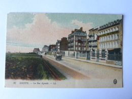 CP (76) Seine Maritime - DIEPPE - La Rue Aguado - Dieppe