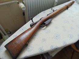 RARE CARABINE MAUSER 1889 FN HERSTAL A RESTAURER ARME HISTORIQUE CATEGORIE D - Armes Neutralisées