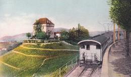 Frankrijk Chateau Du Chatelard Train - Eisenbahnen