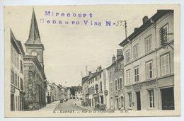 "Darney - Rue De La République ""Mirecourt Censure Visa N°55"" - Darney"