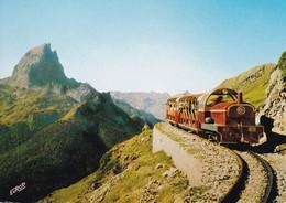 Frankrijk Artousre Vertrek Van De Train - Eisenbahnen